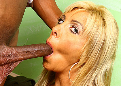 big boobed blonde MILF Misty Vonage gets banged by black studs from Blacks on Cougars