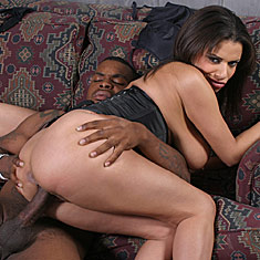Alexis Silver and Erin Moore sharing a big black cock from Ruth BlackWell